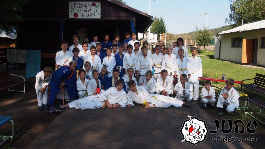 Judo víc než sport - tábor v Nižboru 2017 - Skupina pokročilých