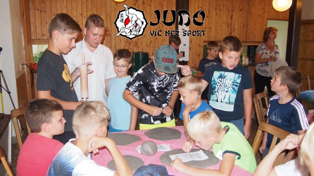 Judo víc než sport – tábor v Nižboru 2017 – Keramika