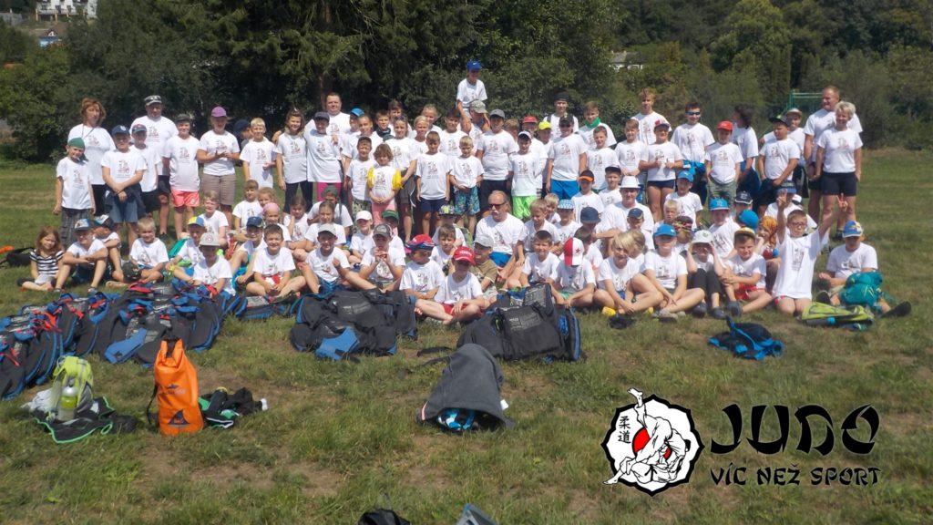 Judo víc než sport – tábor v Nižboru 2017 – Před vyplutím
