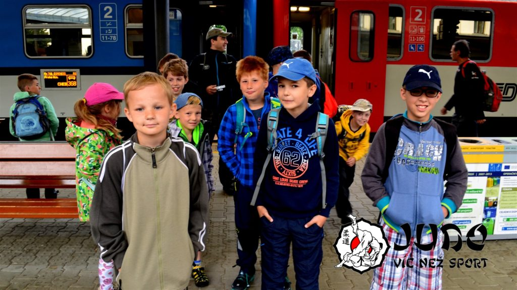 Judo víc než sport – Judo víkend v Mariánských lázních - Odjezd z Berouna