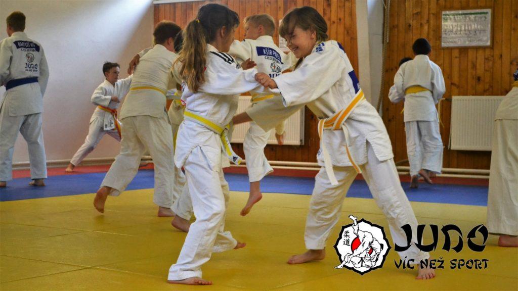 Judo víc než sport – Judo víkend v Mariánských lázních - Trénink v Budo club Mariánské Lázně
