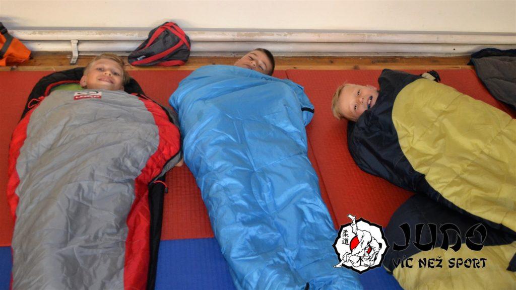 Judo víc než sport – Judo víkend v Mariánských lázních - Nocleh v Dojo