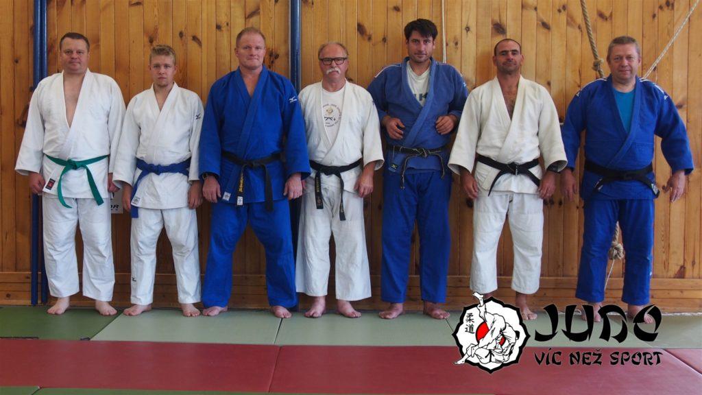 Judo víc než sport – tábor v Nižboru 2017 – Trenéři