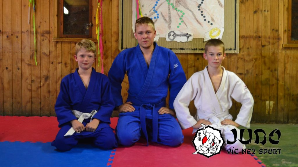Judo víc než sport – tábor v Nižboru 2017 – Zkoušky