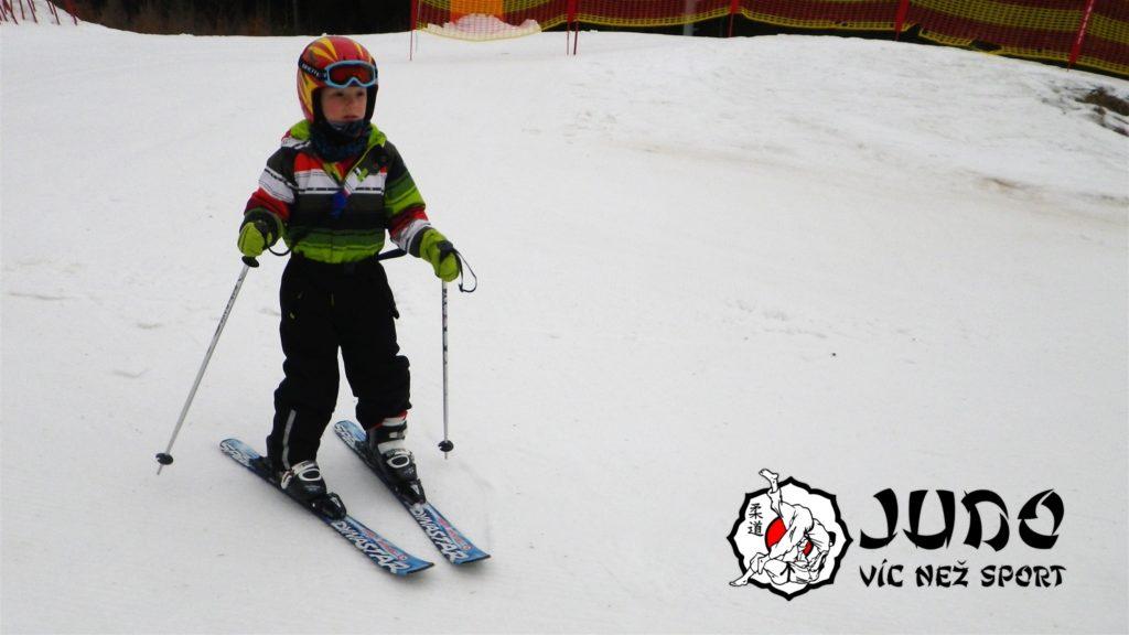 Judo víc než sport – Hory v Železné Rudě 2017 – Lyžař začátečník