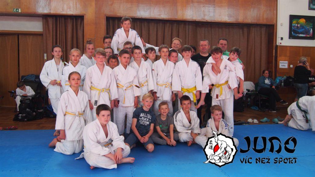 Judo víc než sport na Memoriálu Václava Břízy 29. 4. 2018 (U13, U15 a U18)