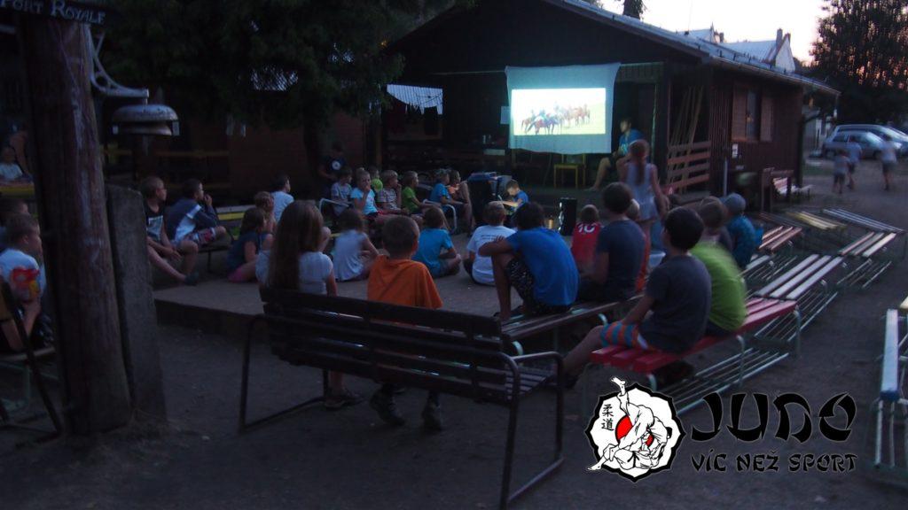 Soustředění 2018 - Letní kino