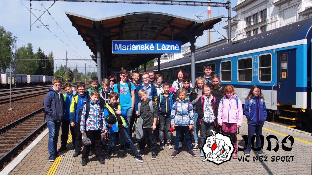 Po příjezdu na mariánskolázeňské nádraží