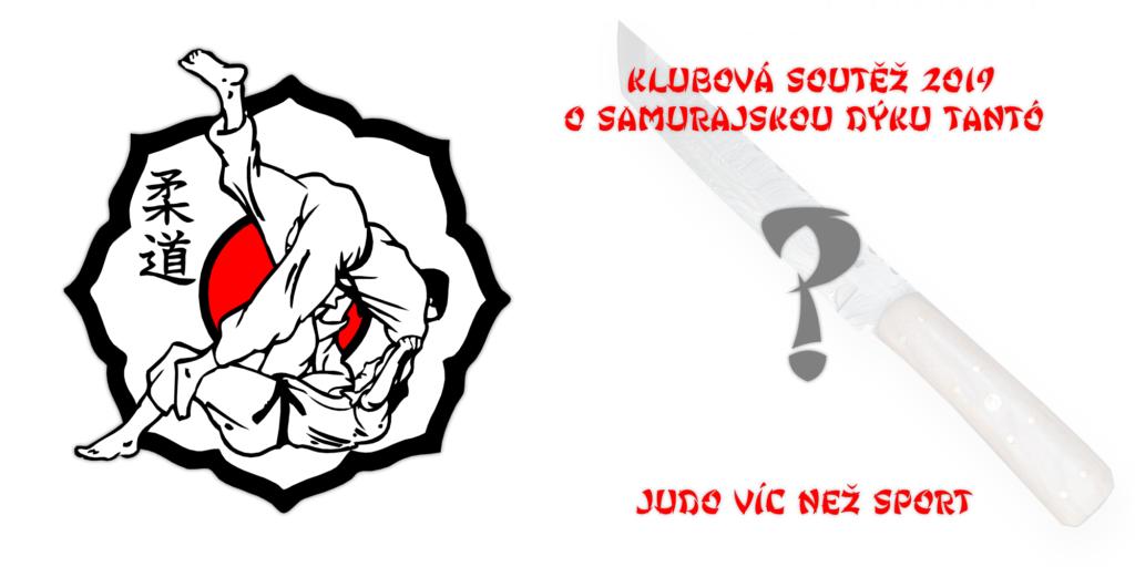 Klubová soutěž 2019 O samurajskou dýku tantó