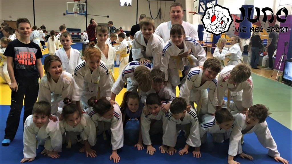Team Judo víc než sport na memoriálu Antonína Tichého 22. 2. 2020 v Benešově