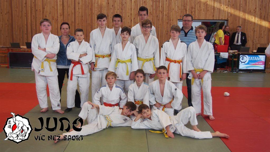 Team Judo víc než sport na memoriálu Ing. Vladimíra Beneše 22. 2. 2020 v Plzni