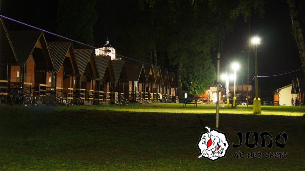 Judo víc než sport – tábor v Nižboru 2017 – Tábor usíná