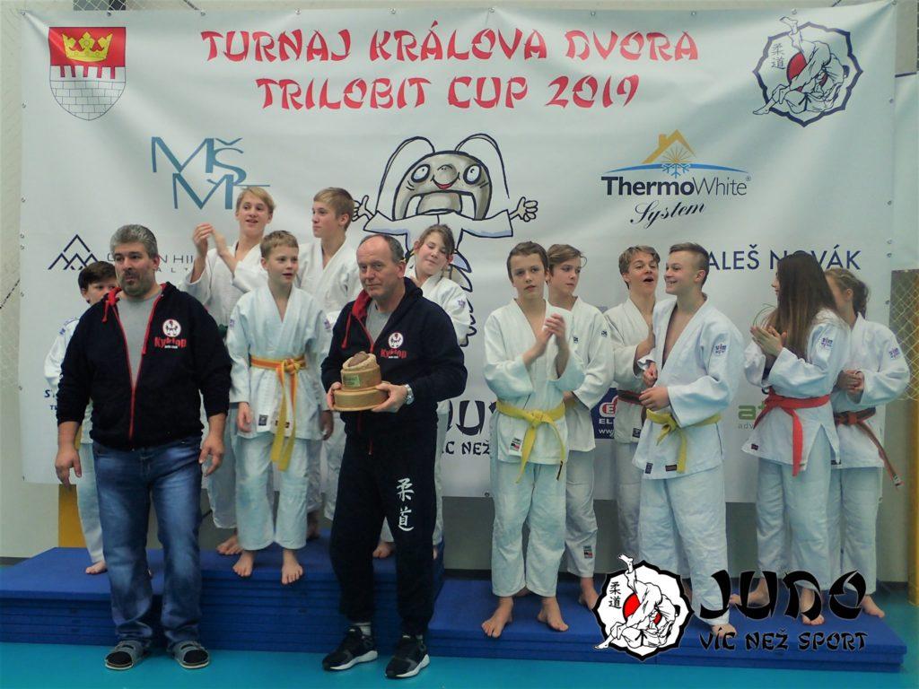 Vítěz 1. ročníku Trilobit Cupu Judo Club Kyklop
